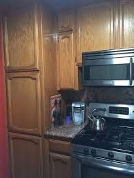 Best Way To Update Kitchen Cabinets How Is The Easiest Way To To Update Light Oak Kitchen Cabinets