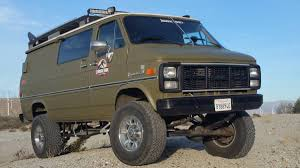bangshift com this solid axle 4x4 1985 chevy van is the ultimate