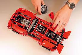 lego technic ferrari lego technic v8 supercar set tested auto express
