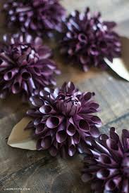 Paper Craft Home Decor Diy Paper Dahlia By Lia Griffith Project Papercraft Home