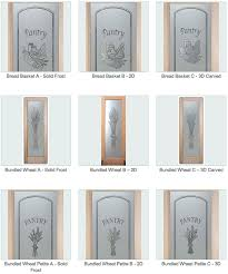 Glass Etching Designs For Kitchen Etched Glass Pantry Door Sans Soucie Art Glass