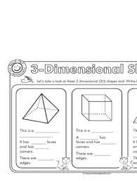 3d shapes worksheets year 2 3d shapes worksheetsship shape first