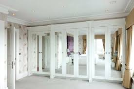 Mirrored Bifold Doors For Closets Sliding Glass Mirrored Closet Doors Handballtunisieorg Mirrored