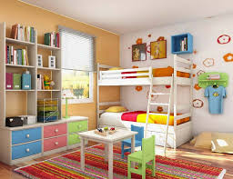 Bedroom Ideas For Small Rooms With Bunk Beds Bedroom Comely Kids Bedroom Interior Designs Ideas For Stunning