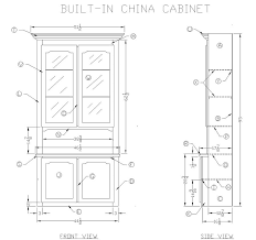 Free Woodworking Plans Pdf Download by How To Make A Built In Oak China Cabinet At Leeswoodprojects Com