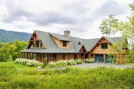 building a home in vermont warren vermont country house rustic exterior burlington