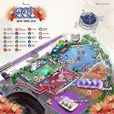 Las Vegas Motor Speedway Map by Edc New York 2016 Insomniac