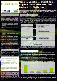 research posters the tizard centre university of kent costs and benefits of social care support for ex offenders