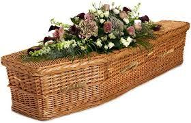 wicker casket eco friendly coffins cremated remains caskets urns memorials