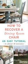 Covered Dining Room Chairs Best 25 Dining Room Chair Cushions Ideas On Pinterest