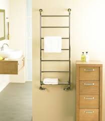 decor multi arms wall mounted towel rack in chrome finish for