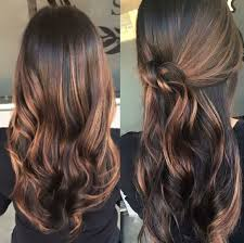 Light Brown Balayage Picture Of Dark Brown And Caramel Balayage Highlights