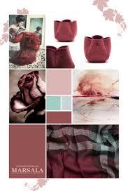 marsala pantone color of the year 2015 moodboard inspiration