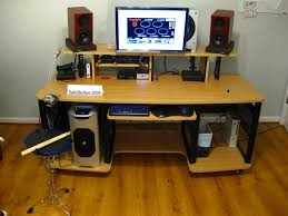 unique recording studio pleasing home studio desk design home