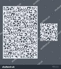 laser cut vector panel seamless pattern stock vector 422883379