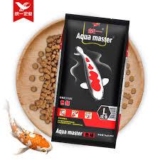 ornamental fish feed koi fish food is not muddy water spirulina by