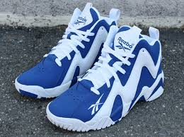 reebok basketball shoes blue reebok men u0027s kamikaze i mid