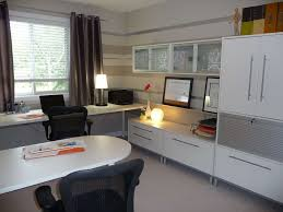 Black Desk And Chair Design Ideas Decorations Contemporary Home Office Space Ideas With White