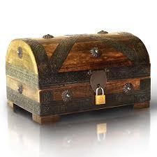 best ocean wooden treasure chests for your bedroom the mermaids home