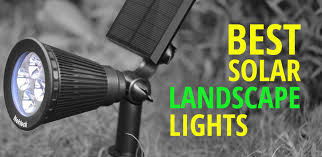 Best Solar Landscape Lights Best Solar Landscape Lighting And Spot Lights Ledwatcher