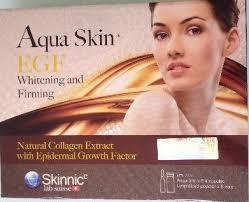 aqua skin egf gold aqua skin egf whitening pro q10 24 gluta vials the gluta shop