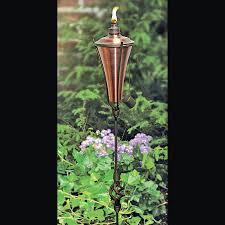 pretty design ideas garden torch stunning decoration copper view