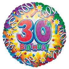 30th birthday balloons delivered birthday explosion 30th balloon delivered inflated in uk
