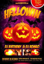 download free halloween flyer psd templates for photoshop