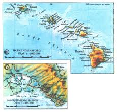 map of hawaii cities island and city maps for oceania and the pacific stadskartor och