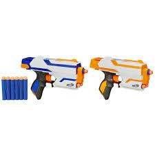 nerf car shooter nerf 2 pack n strike elite sidestrike blaster