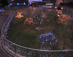 Vilseck Germany Map by Extreme Christmas Decoration Features 70 000 Lights Bavarian Times