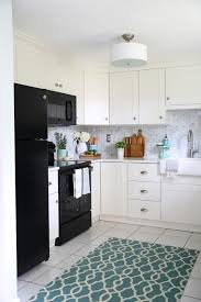 ikea kitchen backsplash our diy white kitchen renovation the reveal just a and