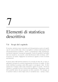 statistica descrittiva dispense elementi di statistica descrittiva docsity
