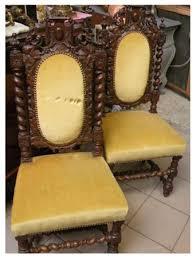 chaises louis xiii achat ancien et brocante paire de chaises de style louis xiii