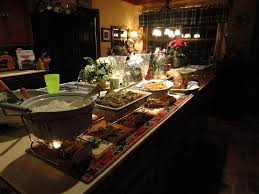 round table dinner buffet price breathtaking dinner party buffet table with complete european food