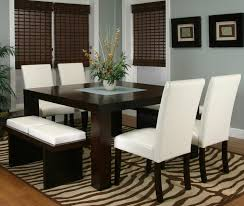 100 dining room set with bench holland house bend 6 piece