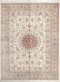fine room size persian silk qum rug 49400 by nazmiyal rugs