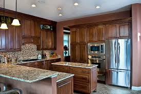 granite countertop backsplash kitchen traditional with beige