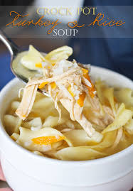 crock pot turkey rice soup recipe turkey rice soup crock