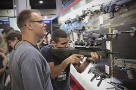 gun stocks rise after las vegas shooting but sales drop under