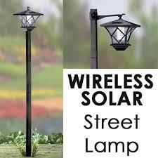 Solar Led Street Lighting by Sb Modern Home Solar Led Street Lamp Post Free Shipping On