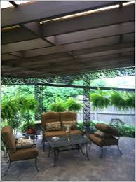 exterior patio ceiling staining and metal painting wilmette il