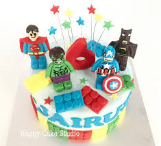 superman happy cake studio