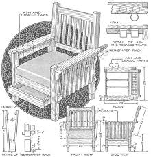 morris chair recliner plans plans diy free download woodworking