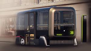 concept bus self driving vehicle designed to help commuters reconnect with outside