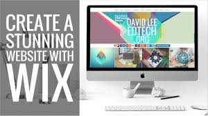wix tutorial how to a stunning website