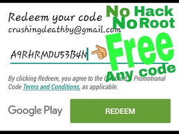 free play gift card redeem code how to get a free play store redeem code