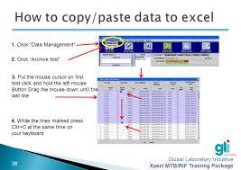 results interpretation and database management ppt download