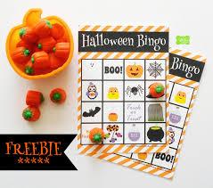 Halloween Bingo Printable Cards With Envy Studios