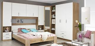 Gloss White Bedroom Furniture Rauch Sammy High Gloss White And Oak Bedroom Furniture 65 519